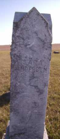 ANDERSEN, SARA - Moody County, South Dakota | SARA ANDERSEN - South Dakota Gravestone Photos