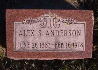 ANDERSON, ALEX S - Moody County, South Dakota | ALEX S ANDERSON - South Dakota Gravestone Photos