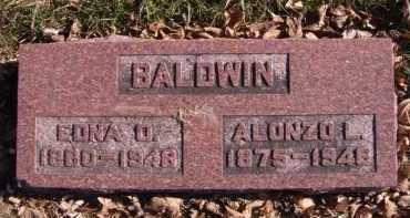 BALDWIN, ALONZO L - Moody County, South Dakota | ALONZO L BALDWIN - South Dakota Gravestone Photos