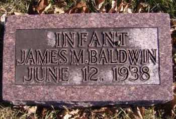 BALDWIN, JAMES M - Moody County, South Dakota | JAMES M BALDWIN - South Dakota Gravestone Photos