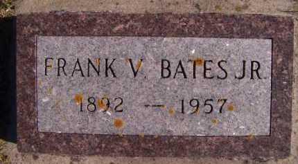 BATES, FRANK V JR - Moody County, South Dakota | FRANK V JR BATES - South Dakota Gravestone Photos