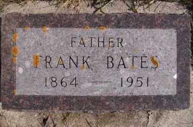 BATES, FRANK - Moody County, South Dakota | FRANK BATES - South Dakota Gravestone Photos