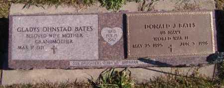 BATES, DONALD J (MILITARY) - Moody County, South Dakota | DONALD J (MILITARY) BATES - South Dakota Gravestone Photos