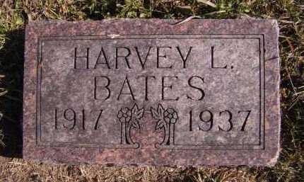 BATES, HARVEY L - Moody County, South Dakota | HARVEY L BATES - South Dakota Gravestone Photos