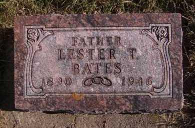 BATES, LESTER T - Moody County, South Dakota | LESTER T BATES - South Dakota Gravestone Photos