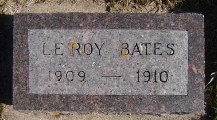 BATES, LEROY - Moody County, South Dakota | LEROY BATES - South Dakota Gravestone Photos