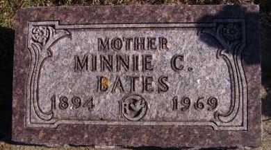 BATES, MINNIE C - Moody County, South Dakota | MINNIE C BATES - South Dakota Gravestone Photos