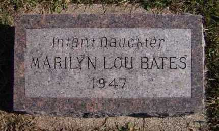 BATES, MARILYN LOU - Moody County, South Dakota | MARILYN LOU BATES - South Dakota Gravestone Photos