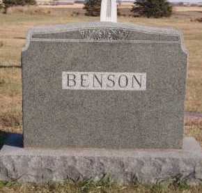 BENSON, FAMILY - Moody County, South Dakota | FAMILY BENSON - South Dakota Gravestone Photos
