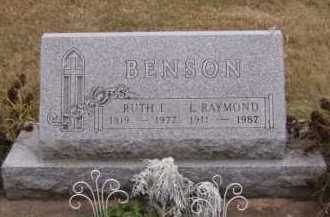 BENSON, RUTH I - Moody County, South Dakota | RUTH I BENSON - South Dakota Gravestone Photos