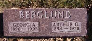 BERGLUND, ARTHUR G - Moody County, South Dakota | ARTHUR G BERGLUND - South Dakota Gravestone Photos