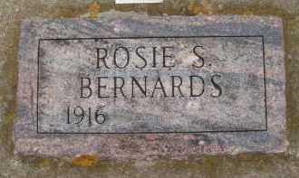 BERNARDS, ROSIE S - Moody County, South Dakota | ROSIE S BERNARDS - South Dakota Gravestone Photos