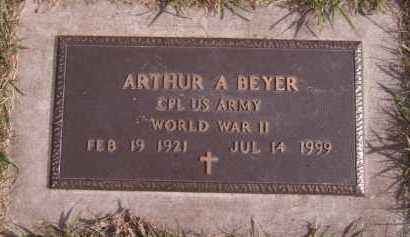 BEYER, ARTHUR A (MILITARY) - Moody County, South Dakota | ARTHUR A (MILITARY) BEYER - South Dakota Gravestone Photos
