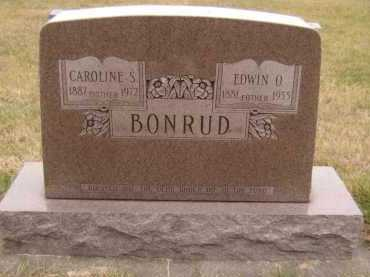 BONRUD, CAROLINE S - Moody County, South Dakota | CAROLINE S BONRUD - South Dakota Gravestone Photos