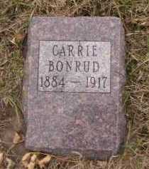 BONRUD, CARRIE - Moody County, South Dakota   CARRIE BONRUD - South Dakota Gravestone Photos