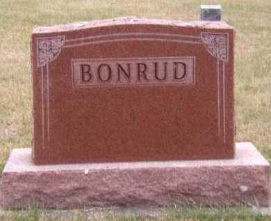 BONRUD, FAMILY - Moody County, South Dakota | FAMILY BONRUD - South Dakota Gravestone Photos