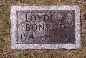 BONRUD, LOYDE V - Moody County, South Dakota | LOYDE V BONRUD - South Dakota Gravestone Photos