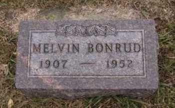 BONRUD, MELVIN - Moody County, South Dakota   MELVIN BONRUD - South Dakota Gravestone Photos