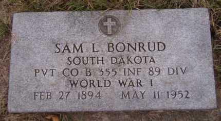 BONRUD, SAM L - Moody County, South Dakota | SAM L BONRUD - South Dakota Gravestone Photos