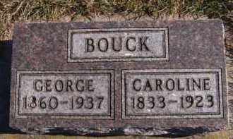 BOUCK, CAROLINE - Moody County, South Dakota   CAROLINE BOUCK - South Dakota Gravestone Photos