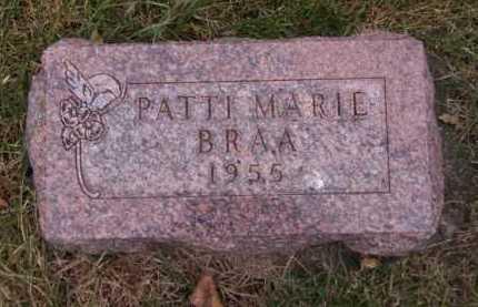 BRAA, PATTI MARIE - Moody County, South Dakota | PATTI MARIE BRAA - South Dakota Gravestone Photos