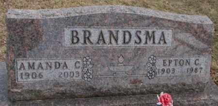 BRANDSMA, EPTON C. - Moody County, South Dakota | EPTON C. BRANDSMA - South Dakota Gravestone Photos