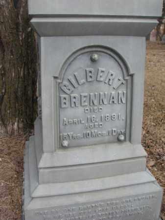 BRENNAN, GILBERT (CLOSE UP) - Moody County, South Dakota   GILBERT (CLOSE UP) BRENNAN - South Dakota Gravestone Photos