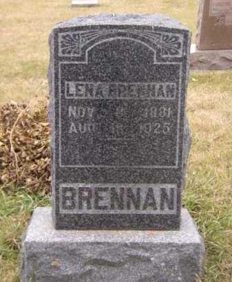 BRENNAN, LENA S - Moody County, South Dakota | LENA S BRENNAN - South Dakota Gravestone Photos
