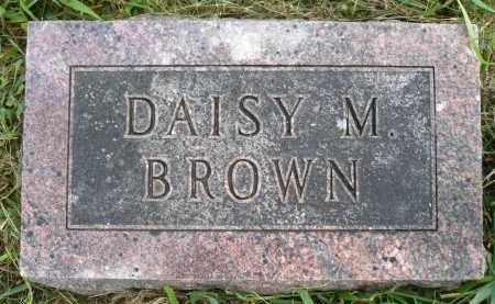 GLEASON BROWN, DAISY MAE - Moody County, South Dakota | DAISY MAE GLEASON BROWN - South Dakota Gravestone Photos