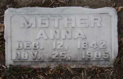 BUCHHOLTZ, ANNA - Moody County, South Dakota | ANNA BUCHHOLTZ - South Dakota Gravestone Photos