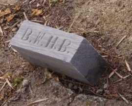 BUCHHOLTZ (FOOTSTONE), B W H - Moody County, South Dakota | B W H BUCHHOLTZ (FOOTSTONE) - South Dakota Gravestone Photos