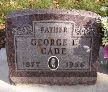 CADE, GEORGE L - Moody County, South Dakota | GEORGE L CADE - South Dakota Gravestone Photos