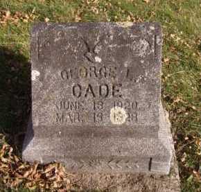 CADE, GEORGE L - Moody County, South Dakota | GEORGE L CADE - South Dakota Gravestone Photos