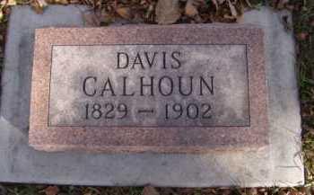 CALHOUN, DAVIS - Moody County, South Dakota | DAVIS CALHOUN - South Dakota Gravestone Photos