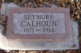 CALHOUN, SEYMORE - Moody County, South Dakota | SEYMORE CALHOUN - South Dakota Gravestone Photos