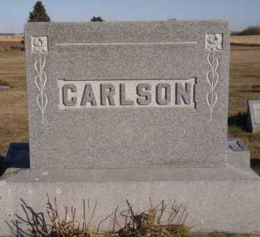 CARLSON, FAMILY - Moody County, South Dakota | FAMILY CARLSON - South Dakota Gravestone Photos