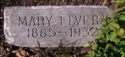 CARLSON, MARY ELVERA - Moody County, South Dakota | MARY ELVERA CARLSON - South Dakota Gravestone Photos