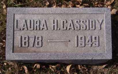CASSIDY, LAURA H - Moody County, South Dakota   LAURA H CASSIDY - South Dakota Gravestone Photos