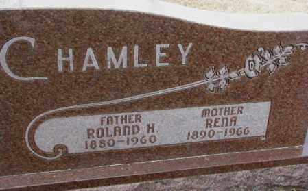 CHAMLEY, ROLAND H. - Moody County, South Dakota | ROLAND H. CHAMLEY - South Dakota Gravestone Photos