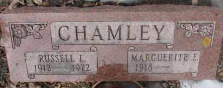 CHAMLEY, RUSSELL L. - Moody County, South Dakota | RUSSELL L. CHAMLEY - South Dakota Gravestone Photos