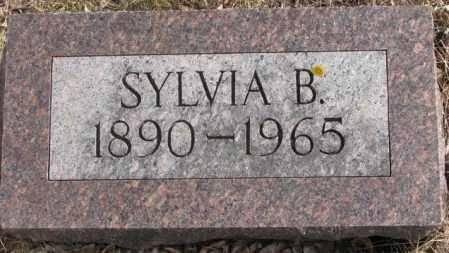 CHAMLEY, SYLVIA B. - Moody County, South Dakota | SYLVIA B. CHAMLEY - South Dakota Gravestone Photos