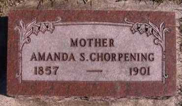 CHORPENING, AMANDA S - Moody County, South Dakota | AMANDA S CHORPENING - South Dakota Gravestone Photos