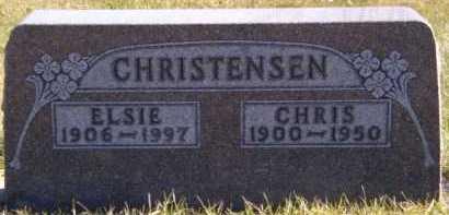 CHRISTENSEN, ELSIE - Moody County, South Dakota | ELSIE CHRISTENSEN - South Dakota Gravestone Photos