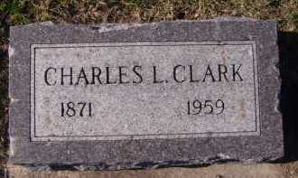 CLARK, CHARLES L - Moody County, South Dakota | CHARLES L CLARK - South Dakota Gravestone Photos