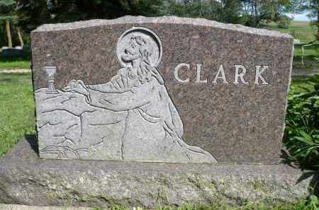 CLARK, FAMILY MARKER - Moody County, South Dakota | FAMILY MARKER CLARK - South Dakota Gravestone Photos