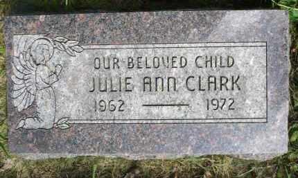 CLARK, JULIE ANN - Moody County, South Dakota | JULIE ANN CLARK - South Dakota Gravestone Photos
