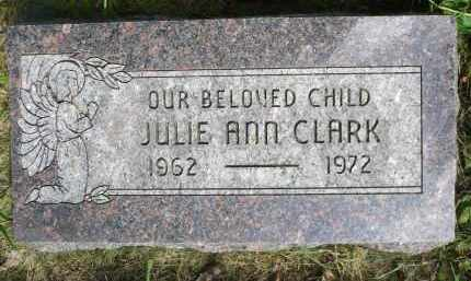 CLARK, JULIE ANN - Moody County, South Dakota | JULIE ANN CLARK - South Dakota Gravestone Photos