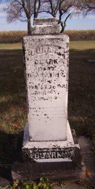 CLARK, LURA A - Moody County, South Dakota   LURA A CLARK - South Dakota Gravestone Photos