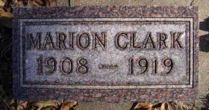 CLARK, MARION - Moody County, South Dakota | MARION CLARK - South Dakota Gravestone Photos