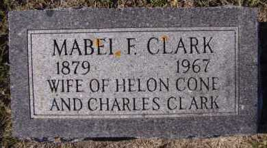 CLARK, MABEL F - Moody County, South Dakota | MABEL F CLARK - South Dakota Gravestone Photos